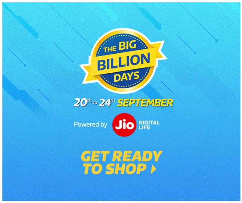 Flipkart Big Billion Days [20-24 September 2017]