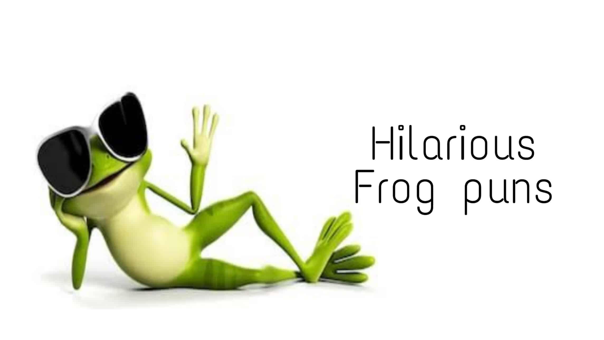 frog puns