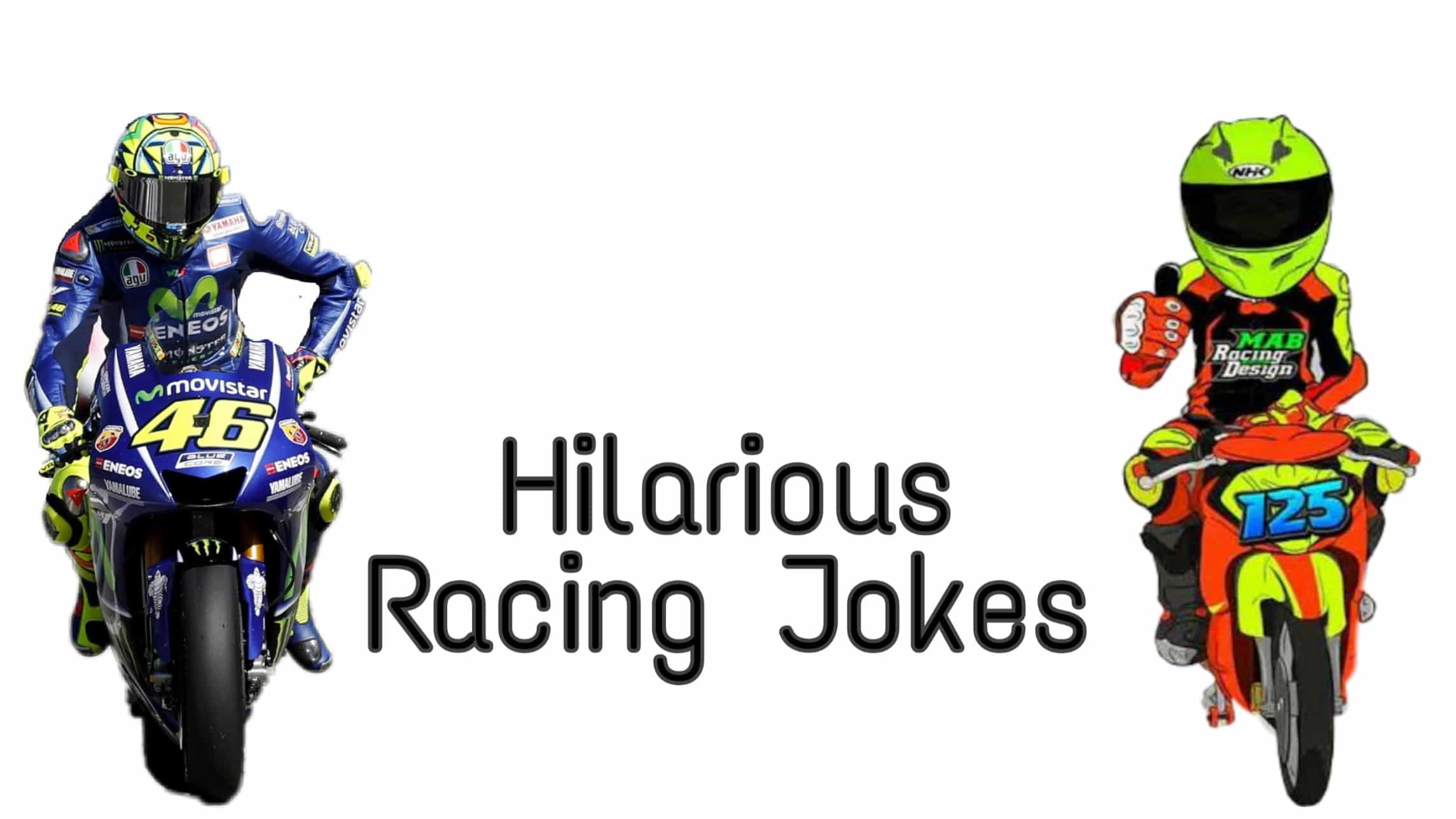 jokes about racing