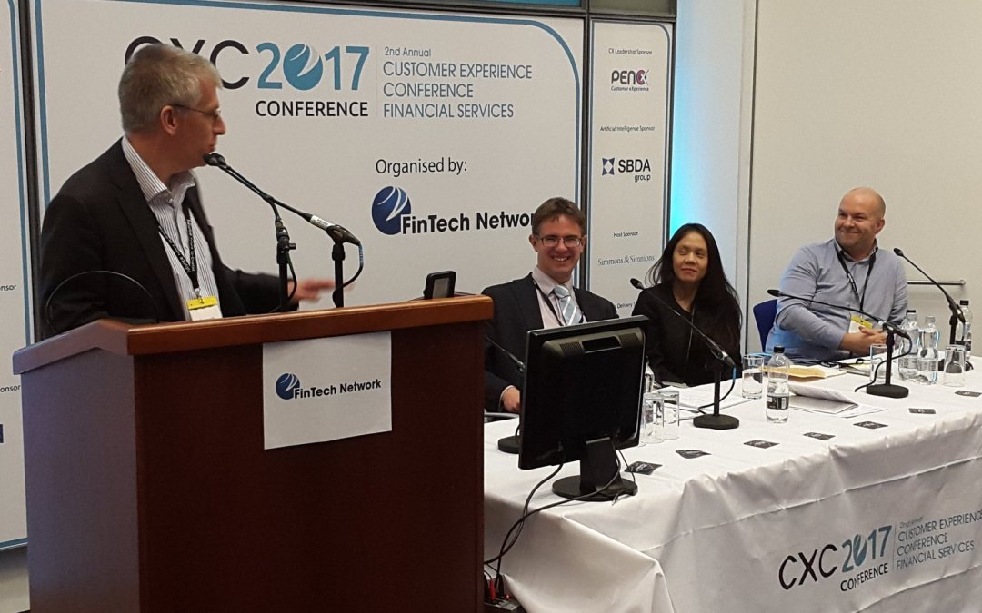 Customer Insight panel for FinTechs at #CXC2017 event