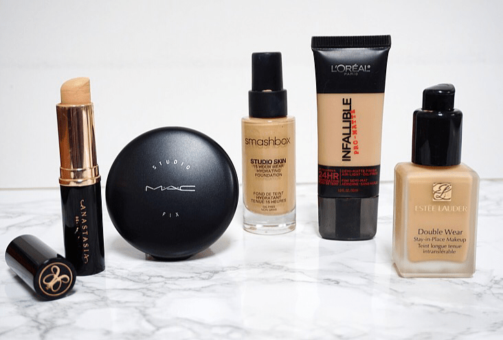 My Holy Grail Foundations for Oily Skin