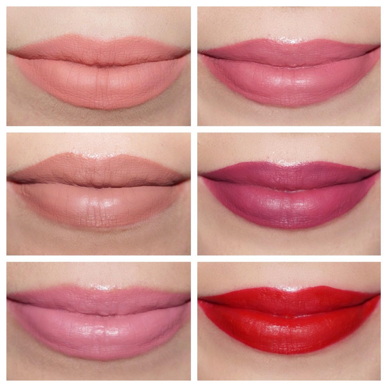 Kylie Cosmetics Valentine Collection Mini Liquid Lipstick Swatches