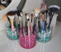 Makeup Brush Holder Diy - Makeup Vidalondon