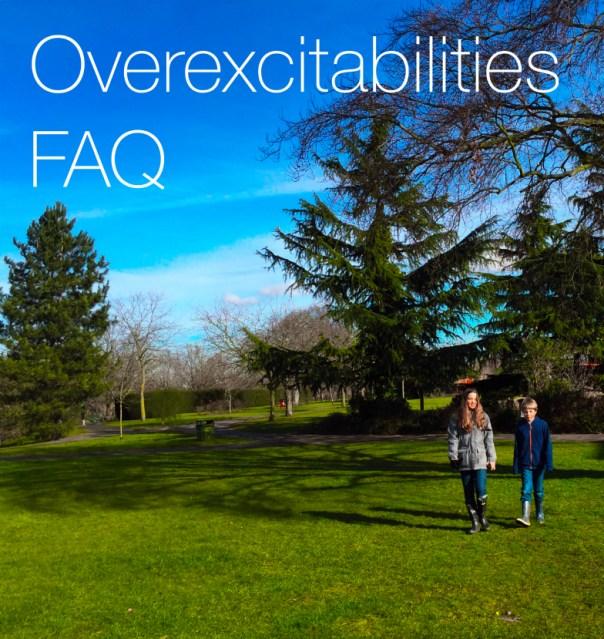 overexcitabilities FAQ