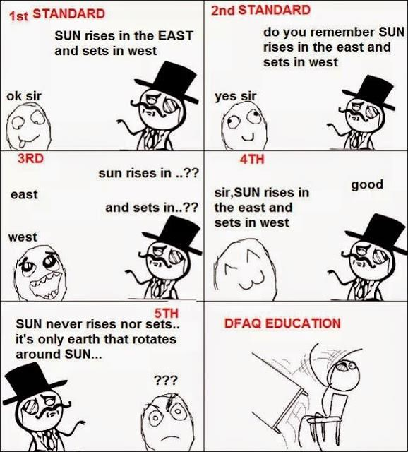 Funny Educational System...Rage Comics