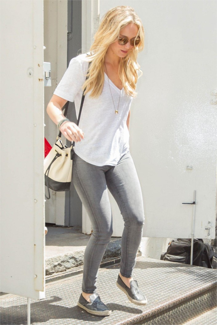 Cute Hawii Wallpapers Jennifer Lawrence Casual Style