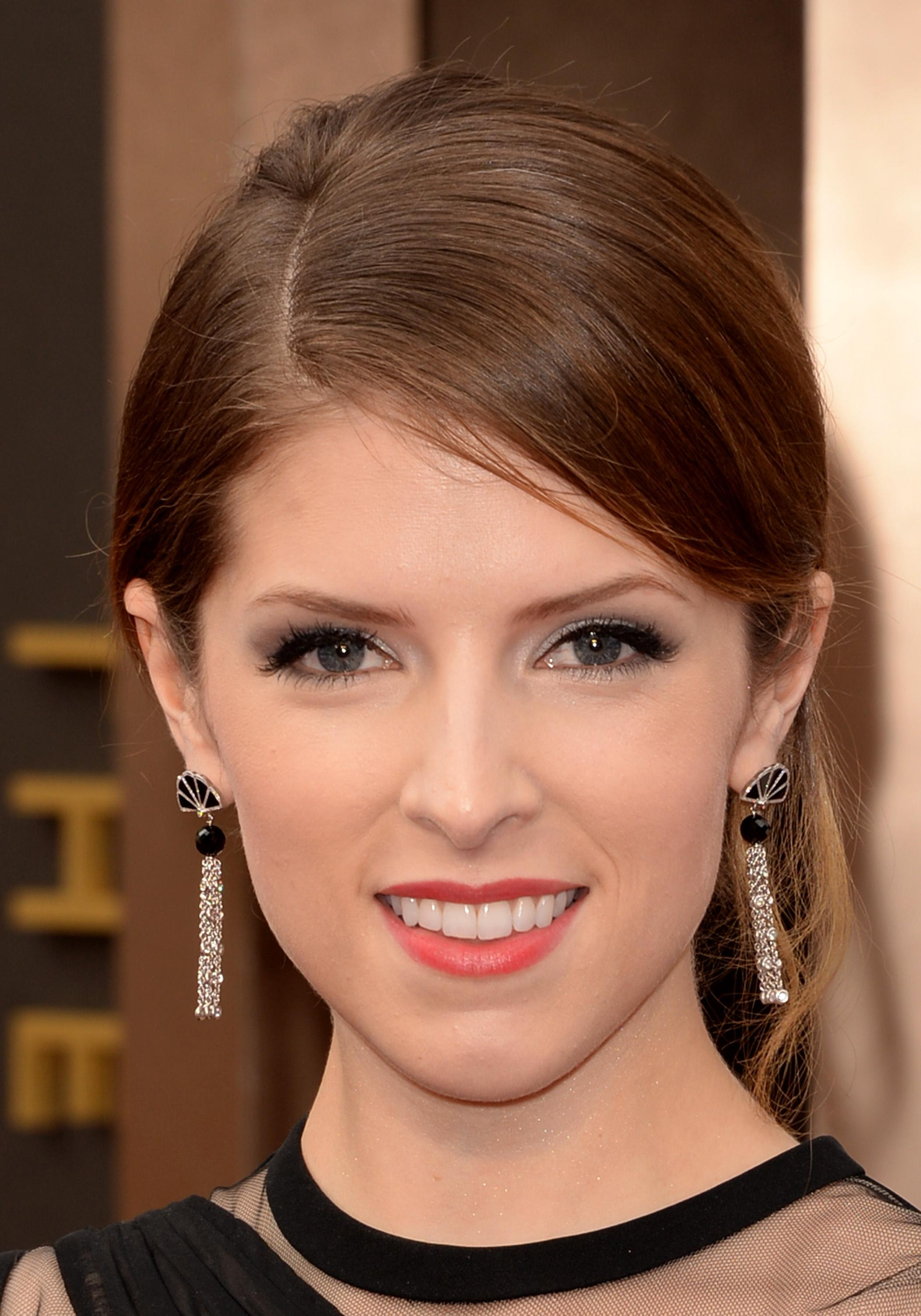 Anna Kendrick Attends The Oscars Held At Hollywood