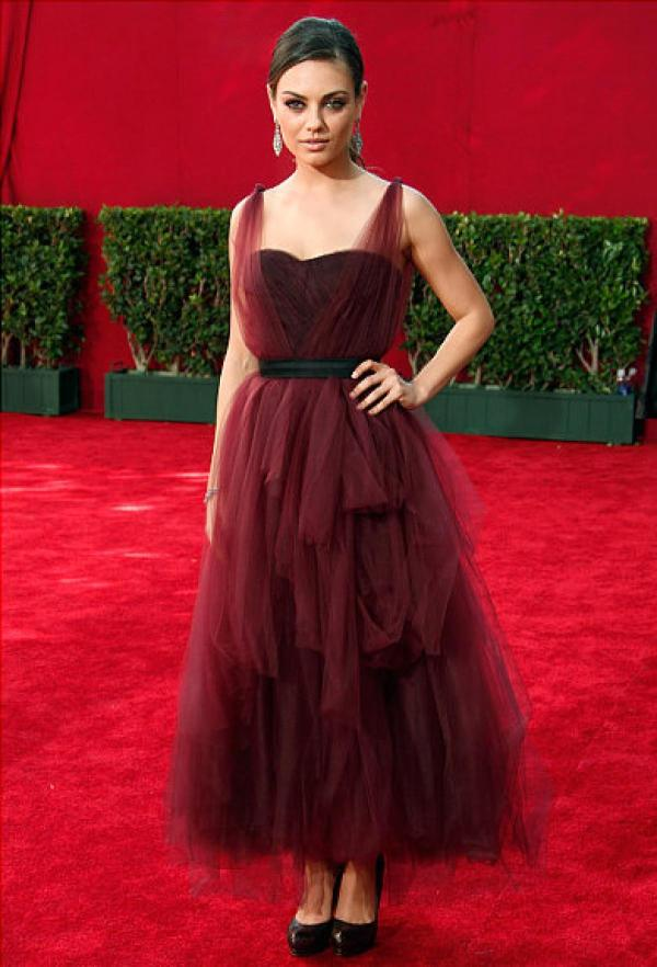 Mila Kunis Red Carpet Dresses
