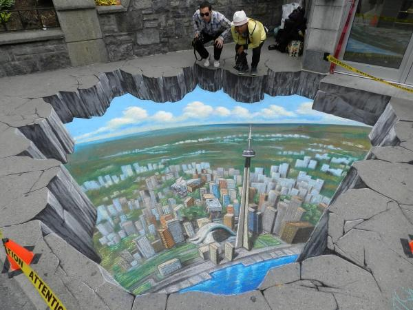 Street Painting 3d Illusions