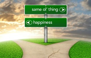 Happiness choice