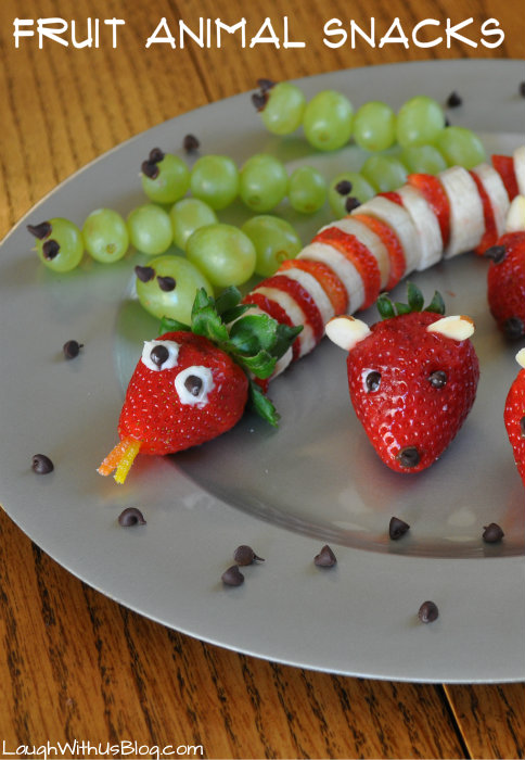 Easy To Make Snacks For Kids