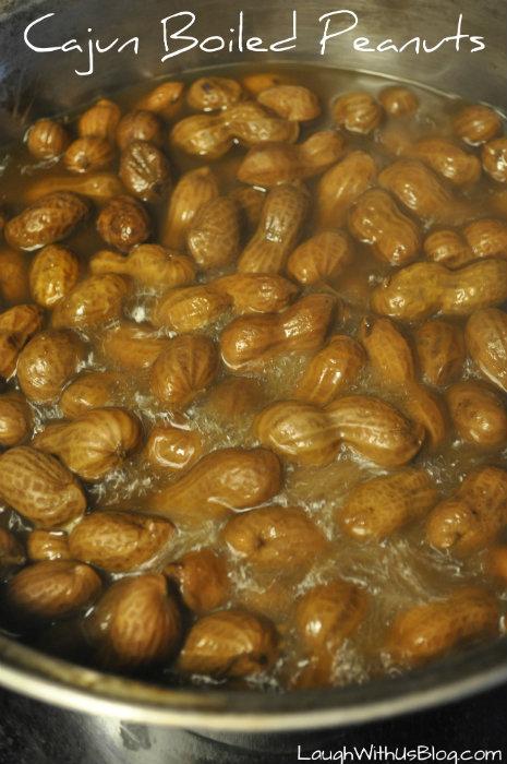Cajun Boiled Peanuts Recipe  Laugh With Us Blog