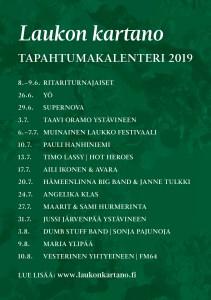 Laukko-passilla näet ja koet kaikki vuoden 2019 tapahtumat