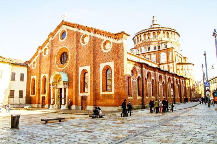 La Iglesia de Santa María delle Grazie en Milán