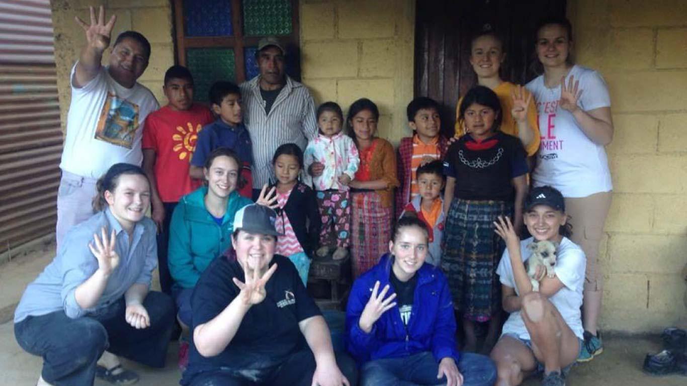 lodging la union spanish school host families guatemala