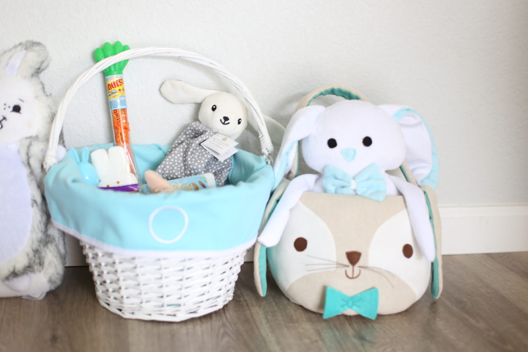 Easter baskets for baby toddler laura co blog the easter bunny will also be bringing emma and owen some bunny goodies negle Gallery