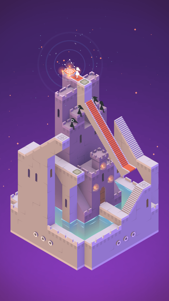 Monument Valley's silent princess