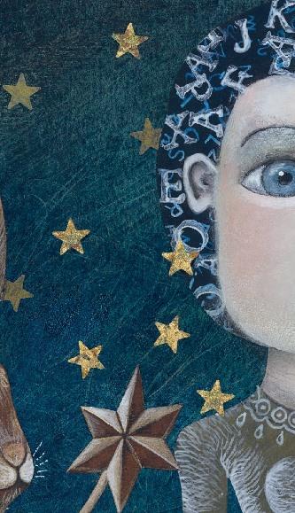 Illustrazione di Laura Berni per la poesia Con internet
