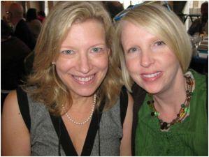 Laura and Sabrina Ogden at Bouchercon, St. Louis