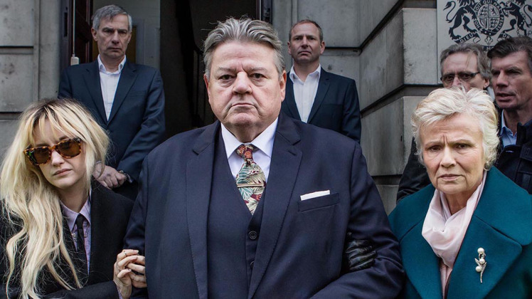 Robbie Coltrane's character in National Treasure has reason to look grim.