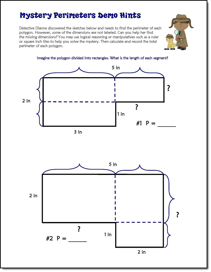 hight resolution of Solving Unknown Perimeter Mysteries