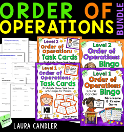 Order of Operations: No-fail strategies that really work! [ 1006 x 1006 Pixel ]
