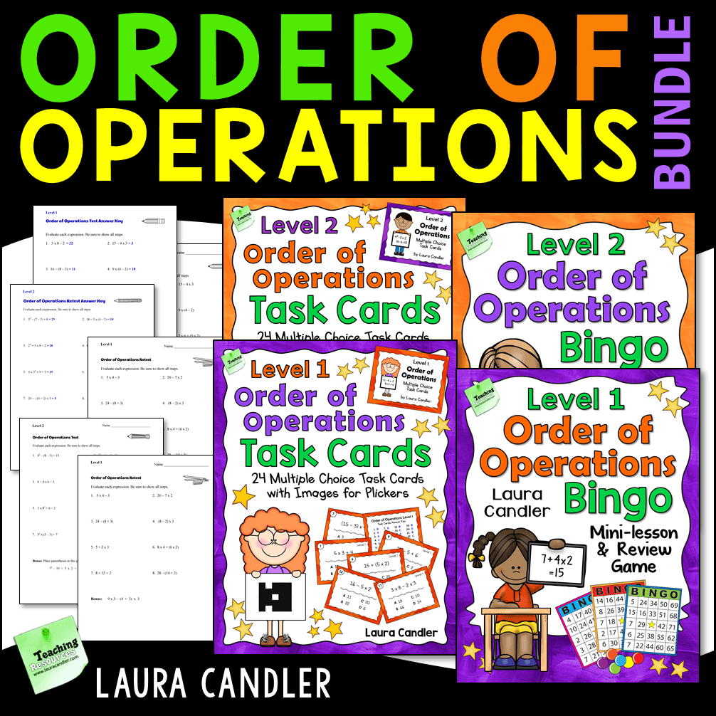 hight resolution of Order of Operations: No-fail strategies that really work!