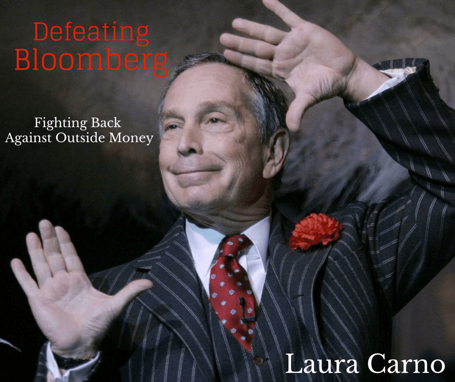 Laura Carno speaks on defeating Bloomberg
