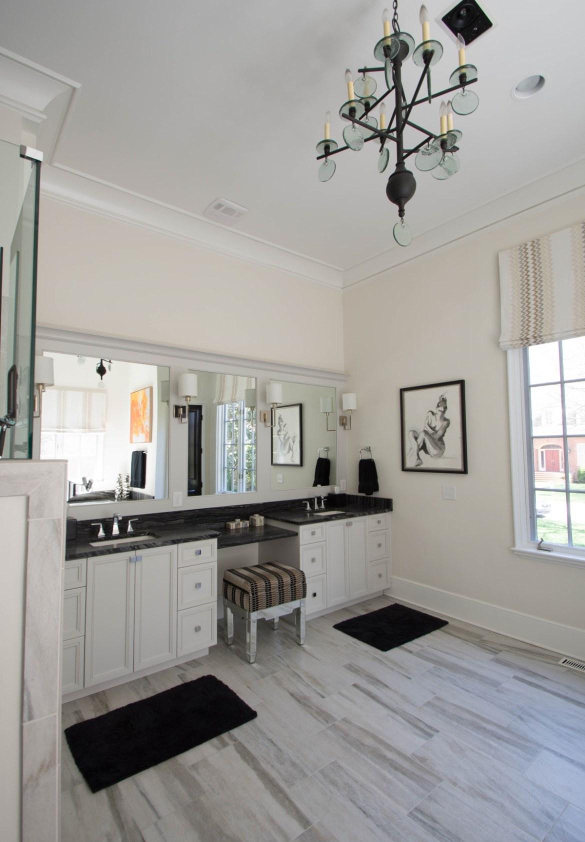 11 - Charlotte Interior Designer Master Bathroom 2 (Custom)