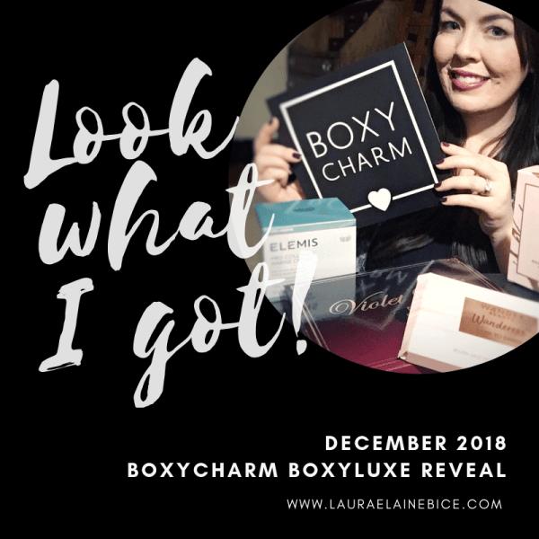 December 2018 BoxyCharm BoxyLuxe Reveal