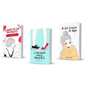 Diseño portadas - Laura Fergué