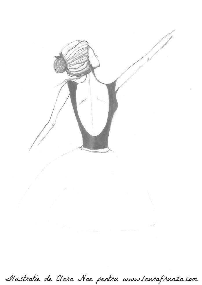 Sablon balerina