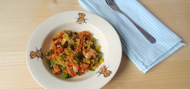 quinoa-cu-pui-si-legume-la-wok