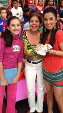 Y el público nos trajo unos burritos de machaca directamente desde Sinaloa... ¡ Yumi!..