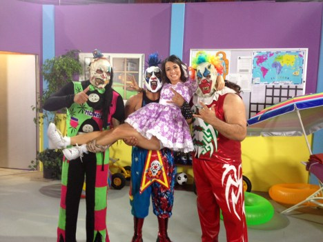 Psyco Circus invitados especiales de Sabadazo!