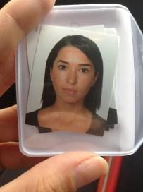 Pueden creer que todos salimos tan mal en las fotos de pasaporte...Fatal!