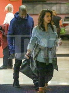 *EXCLUSIVE* First pictures of Kim Kardashian since giving birth to baby North West