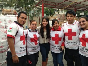 El maravilloso equipo de la cruz roja...
