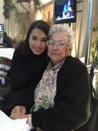 Y llegó mi consentida... Mi abuela