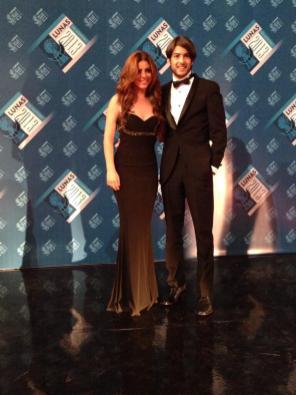 Isabel burr y Juan Pablo Gil
