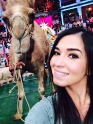 Una selfieeeee con el camello