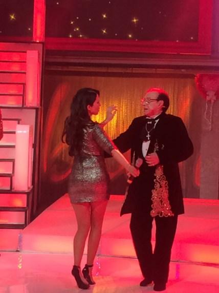 Yo bailando con Don Roberto Mitsuko