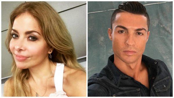 Gloria Trevi y Cristiano Ronaldo