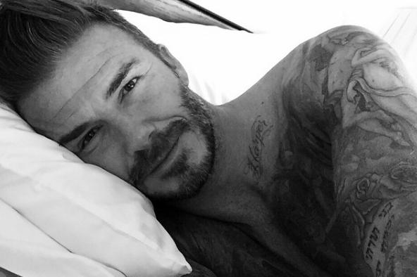 parecerse a David Beckham