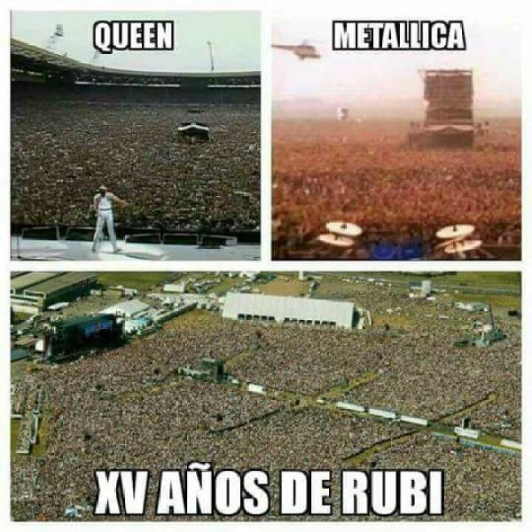 XV años Rubí