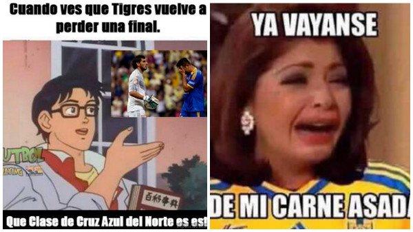Memes tigres chivas