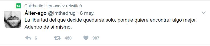 Tuit de Chicharito 2