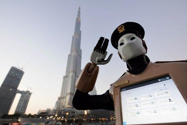 policía robot