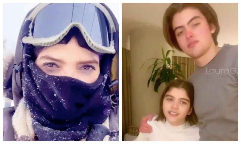 ana barbara hijos nieve