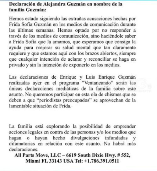 comunicado-alejandra-guzman